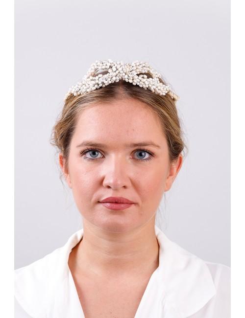 Tiara AMELIE perlas